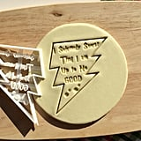 """I Solemnly Swear That I Am Up to No Good"" Cookie Cutter ($6)"