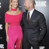 Rosie Huntington-Whiteley Jason Statham Mechanic Premiere