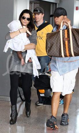 Pictures of Sandra Bullock and Louis Bullock
