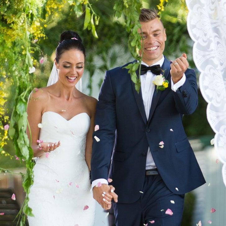 Mark Monica Wedding Photos Married Sight 2016 Popsugar Celebrity Australia