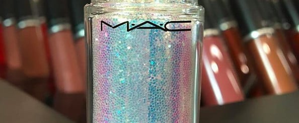 MAC Launching Iridescent Glitter Pigment