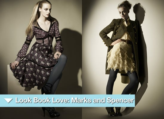 Photos from the 2010 Autumn Winter Lookbook for Marks and Spencer