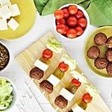 Turkey Burger Kebabs