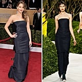Jennifer Lawrence in Christian Dior Haute Couture Spring '13.