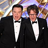 Pictured: Mike Myers and Dana Carvey