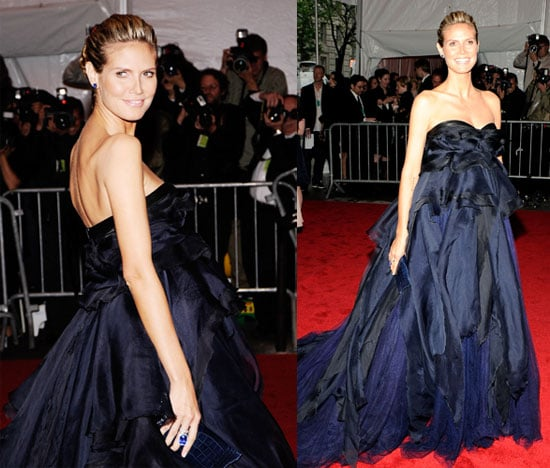 Heidi Klum at the Costume Gala