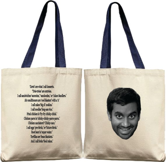 Tom Haverford Tote ($15)