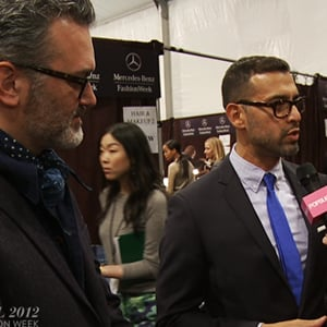 J.Crew Fall 2012 Interview Tom Mora Frank Muytjens