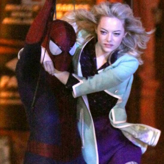 Emma Stone Amazing Spider-Man 2 Costumes | Video