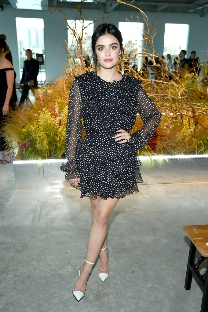 Lucy Hale at the Jason Wu New York Fashion Week Show