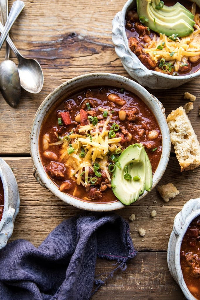 Slow-Cooker Turkey and White Bean Chili