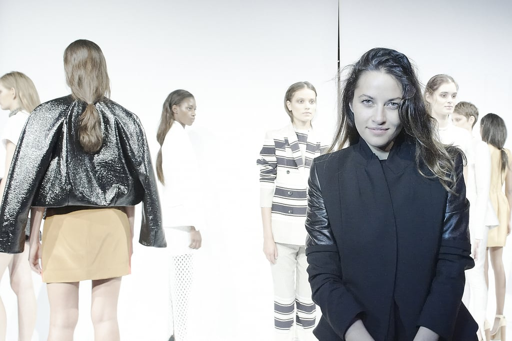 Photos of the Hair and Makeup Look at Ellery Spring Summer 2013 New York Fashion Week