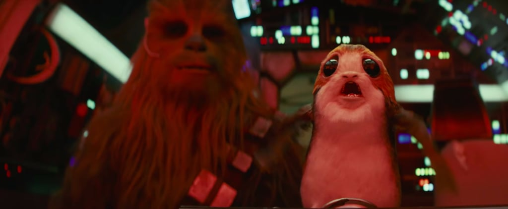 You'll Scream Like a Porg Over the New Star Wars: The Last Jedi Teaser