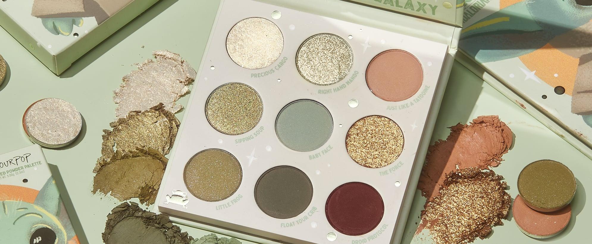 ColourPop Is Releasing a Baby Yoda Eyeshadow Palette