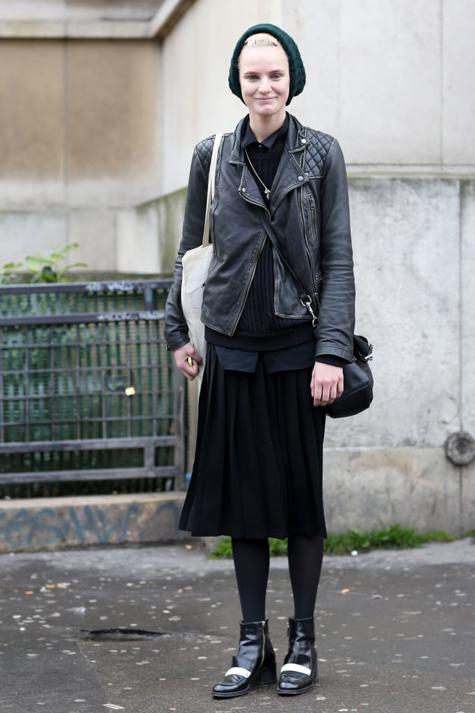 PFW Model Street Style Day Six