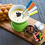 Throw a fondue night, and experiment with unique ingredients.