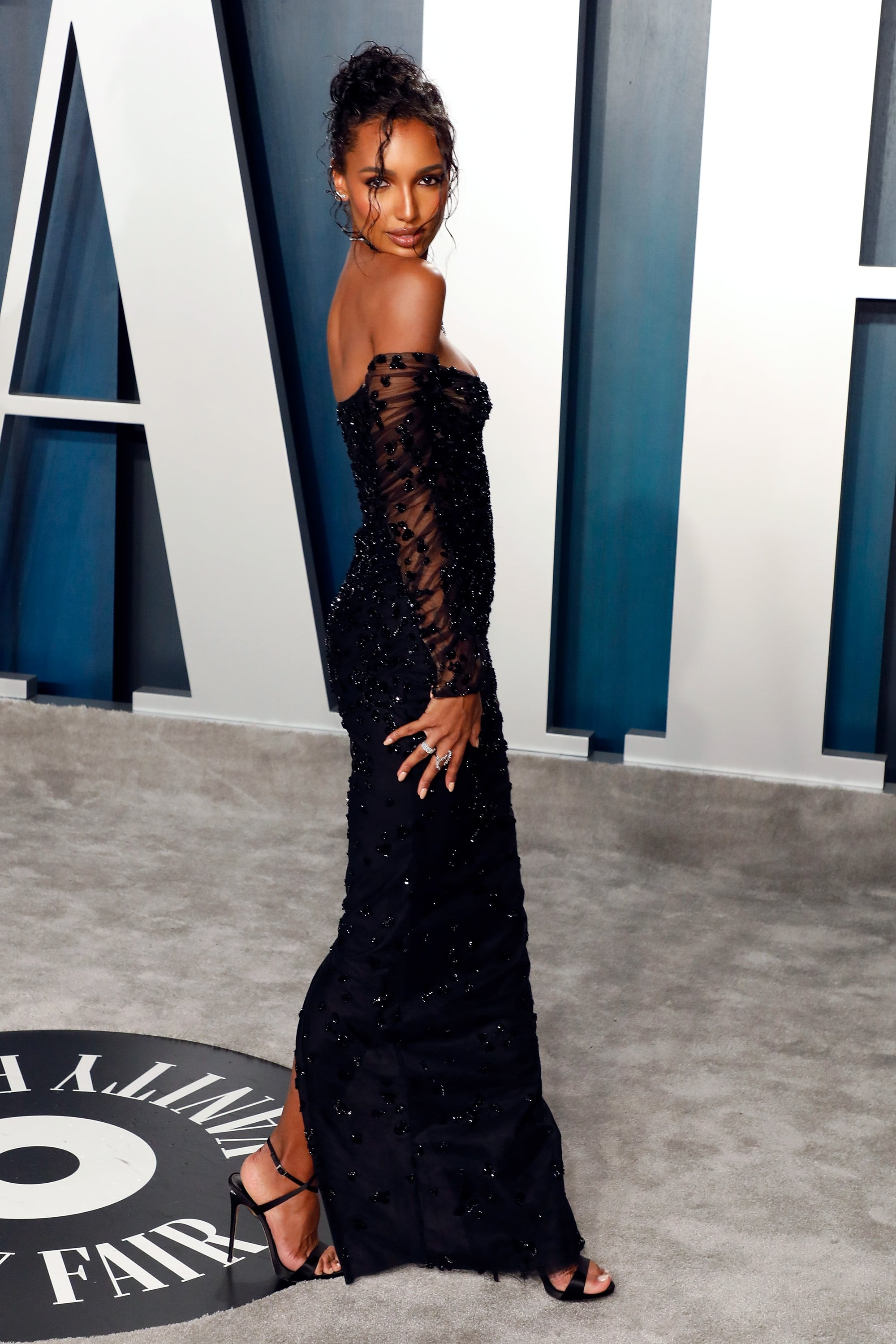 Jasmine Tookes At The Vanity Fair Oscars Afterparty 2020 See Every Incredible Dress At The Vanity Fair Oscars Afterparty Popsugar Fashion Photo 127