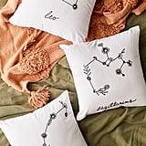 Allison Terkelsen For Deny Floral Constellation Throw Pillow