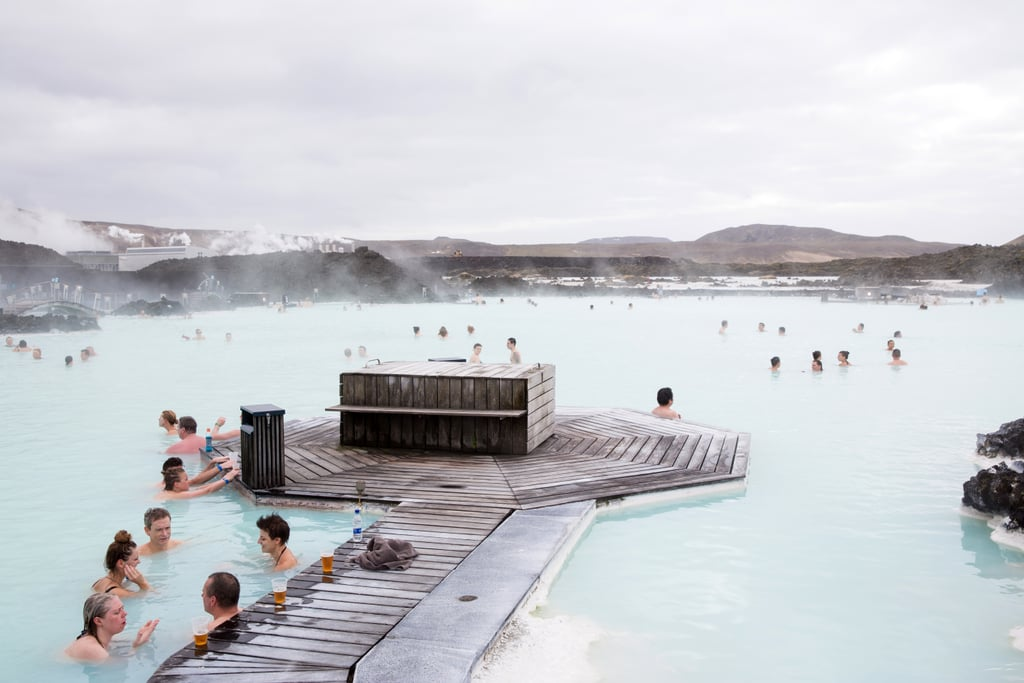 Soak in the Blue Lagoon Hot Springs in Iceland