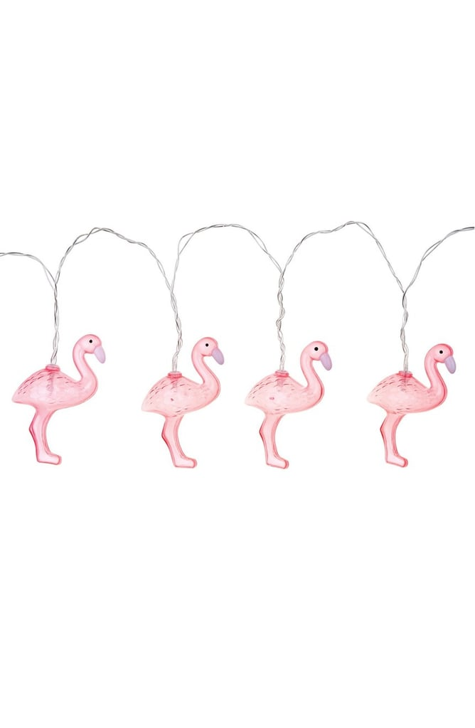 Sunnylife Flamingo String Lights ($25)