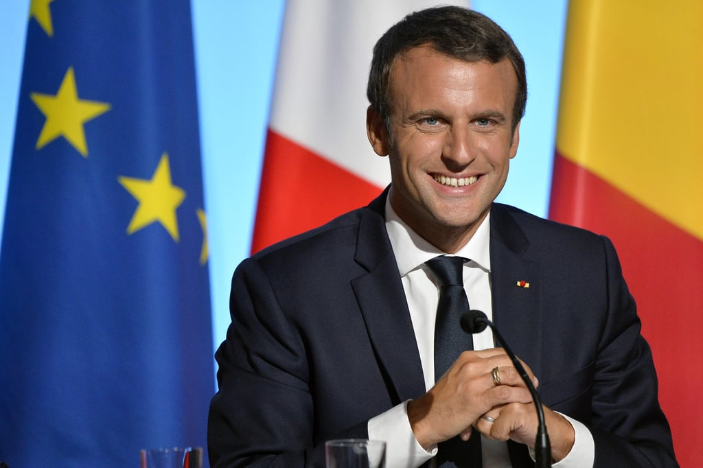 From the President of France Emmanuel Macron