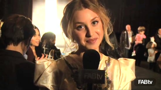 Whitney Port Talks About Rachel Roy at Fall New York Fashion Week 2010