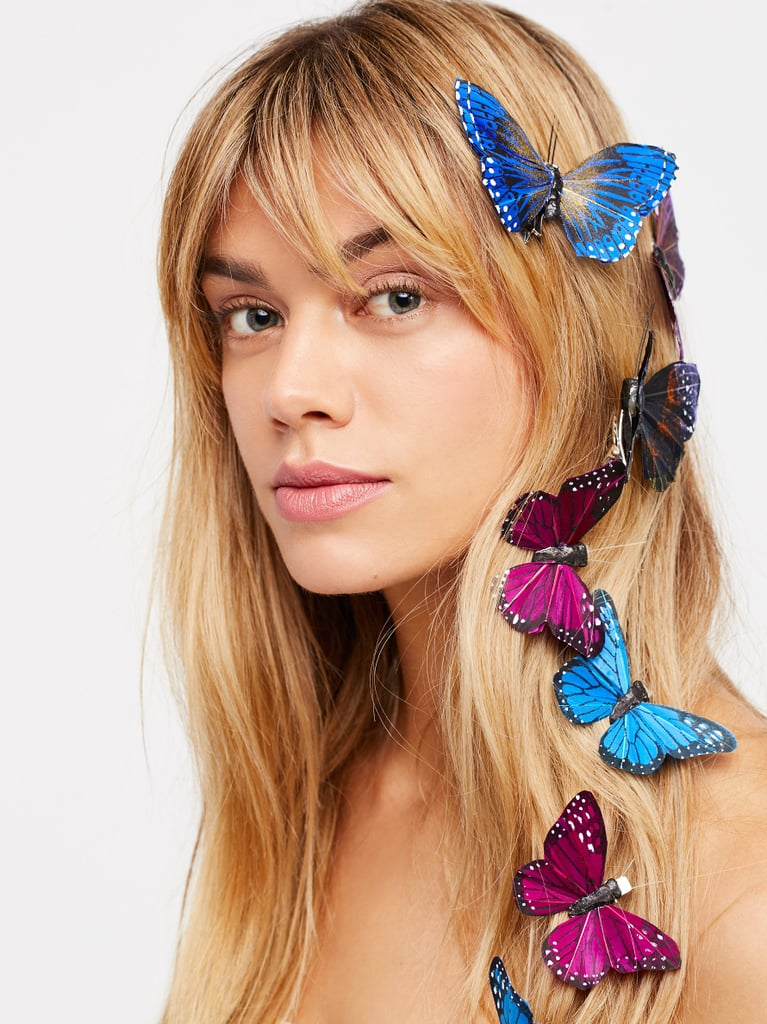 Butterfly Hair Clip 7-Pack – Twilight Blue