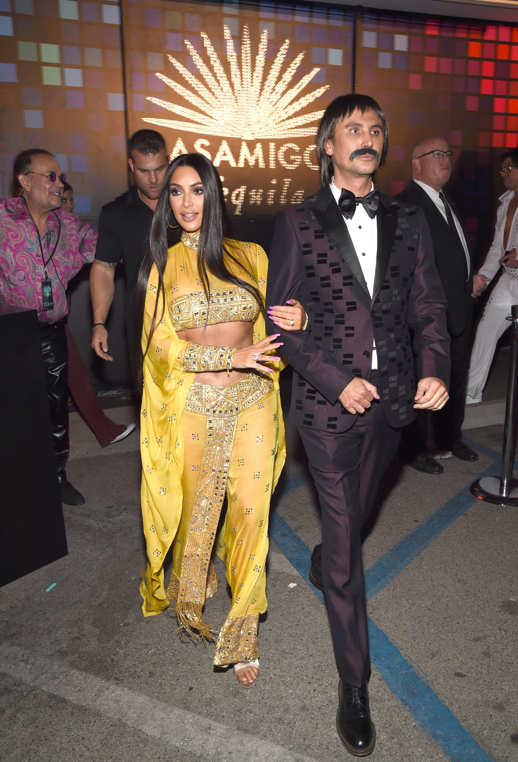 Kim Kardashian Cher Costume Style 2017 Popsugar Fashion