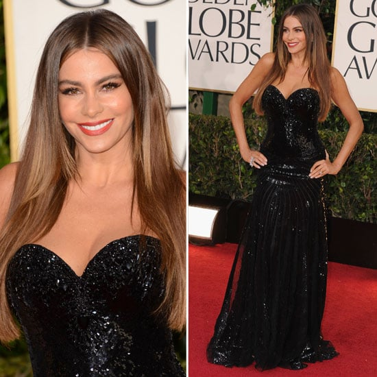 Sofia Vergara | Golden Globes Red Carpet Fashion 2013