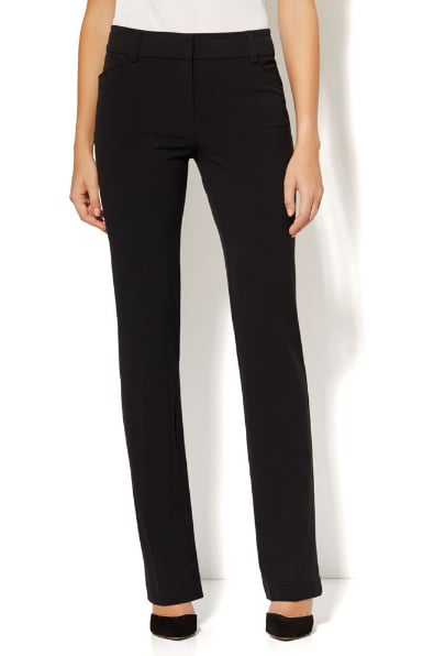 """New York & Company """"The Bleecker Street"""" double-stretch, straight-leg pant ($50) are a workwear classic."""