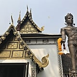 Though it is the largest city in Northern Thailand, Chiang Mai has less than an 8th of Bangkok's population. Travelers seeking a quieter location that still has the offerings of a metropolitan area will love the gem that is Chiang Mai. The city is surrounded by mountains, and in addition to its historic sites, it has a great coffee culture, local day and night markets, art scene, and countless different restaurants with an array of ambiances and types of food that will satisfy whatever craving you may have.