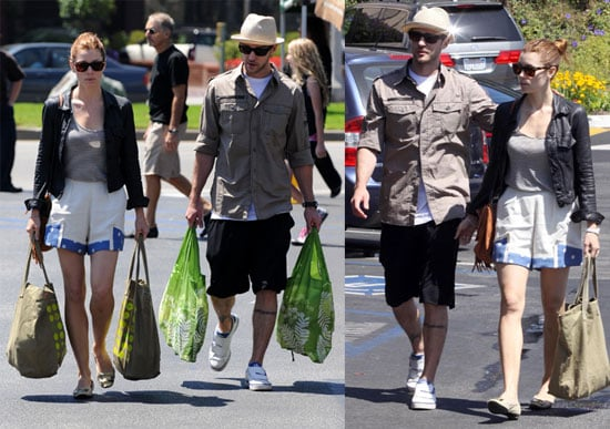Photos of Justin Timberlake and Jessica Biel Together in LA 2009-07-06 03:00:49