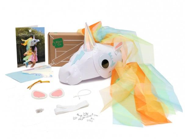 Glowing Horn Unicorn Costume