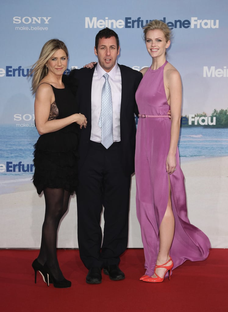 Pictures of Jennifer Aniston, Brooklyn Decker and Adam Sandler at Just Go With It Berlin Premiere