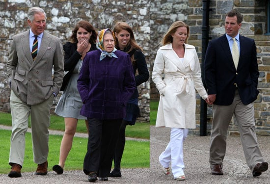 Pictures of the Queen, Princess Beatrice, Princess Eugenie and Royal Family on Hebridean Princess in Scrabster Scotland