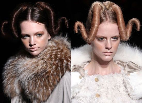 Japan Fashion Week Hair Pieces