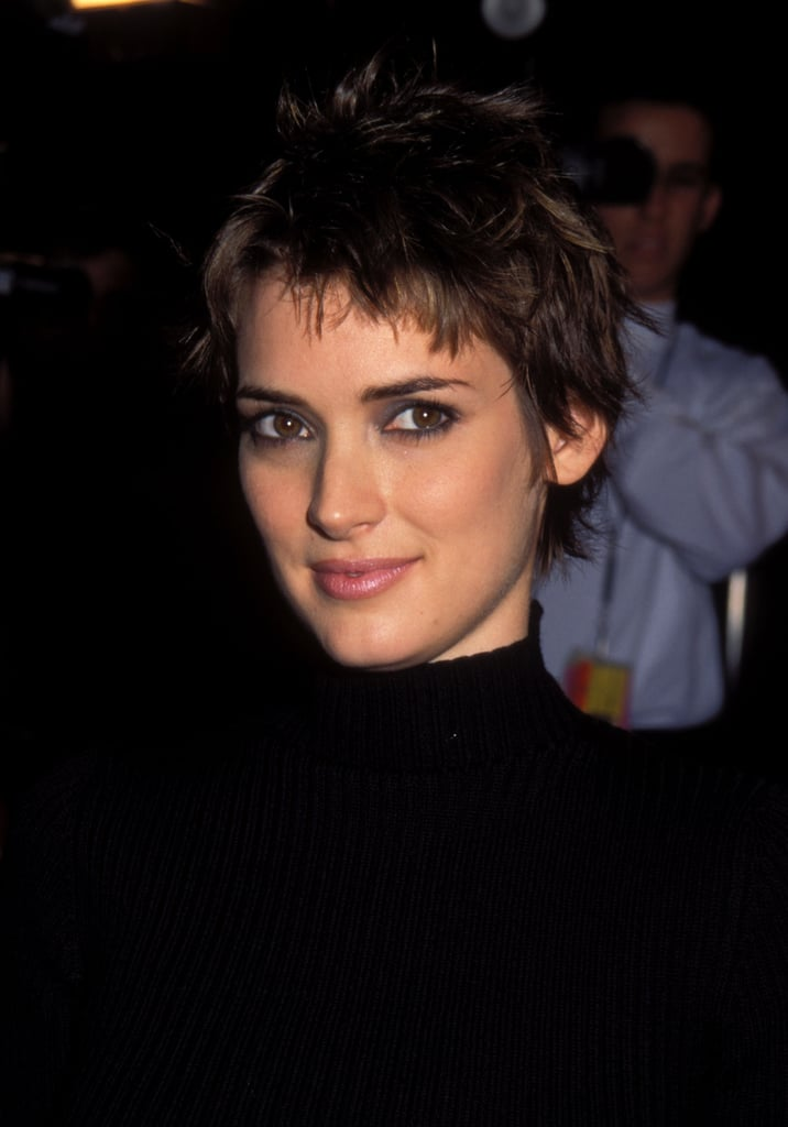 What Is Winona Ryder S Natural Hair Color Popsugar Beauty