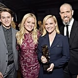 Deacon Reese Phillippe, Ava Elizabeth Phillippe, Reese Witherspoon and Jim Toth
