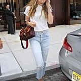 Style Your T-Shirt With: Jeans and Heels