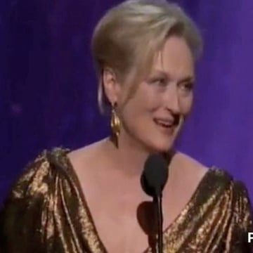 Meryl Streep 2012 Oscar Speech Video