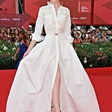 Evan Rachel Wood in Alessandra Rich.