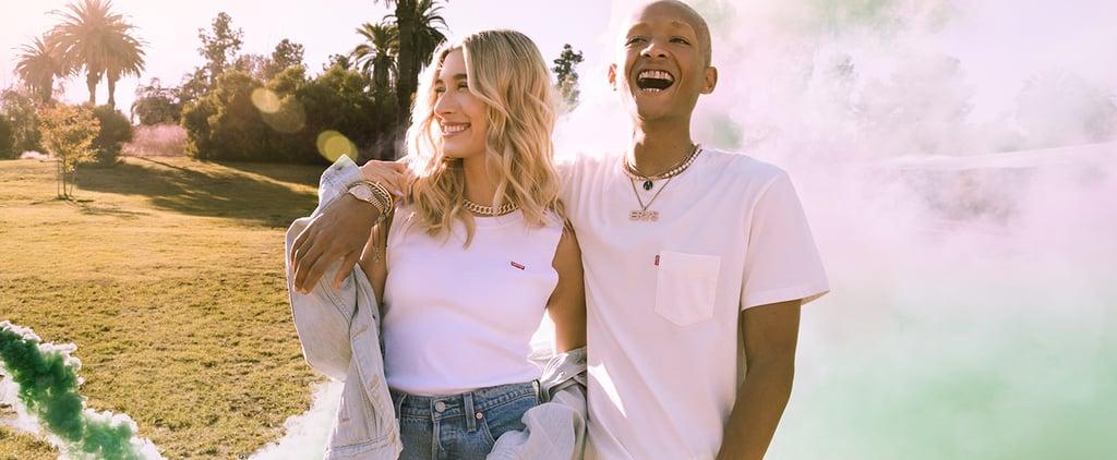 Hailey Bieber x Jaden Smith Levi's Festival Campaign 2020