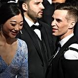 Adam Rippon at the Oscars 2018