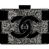 Chanel Black Plexiglass Clutch With Strass Photo courtesy of Chanel