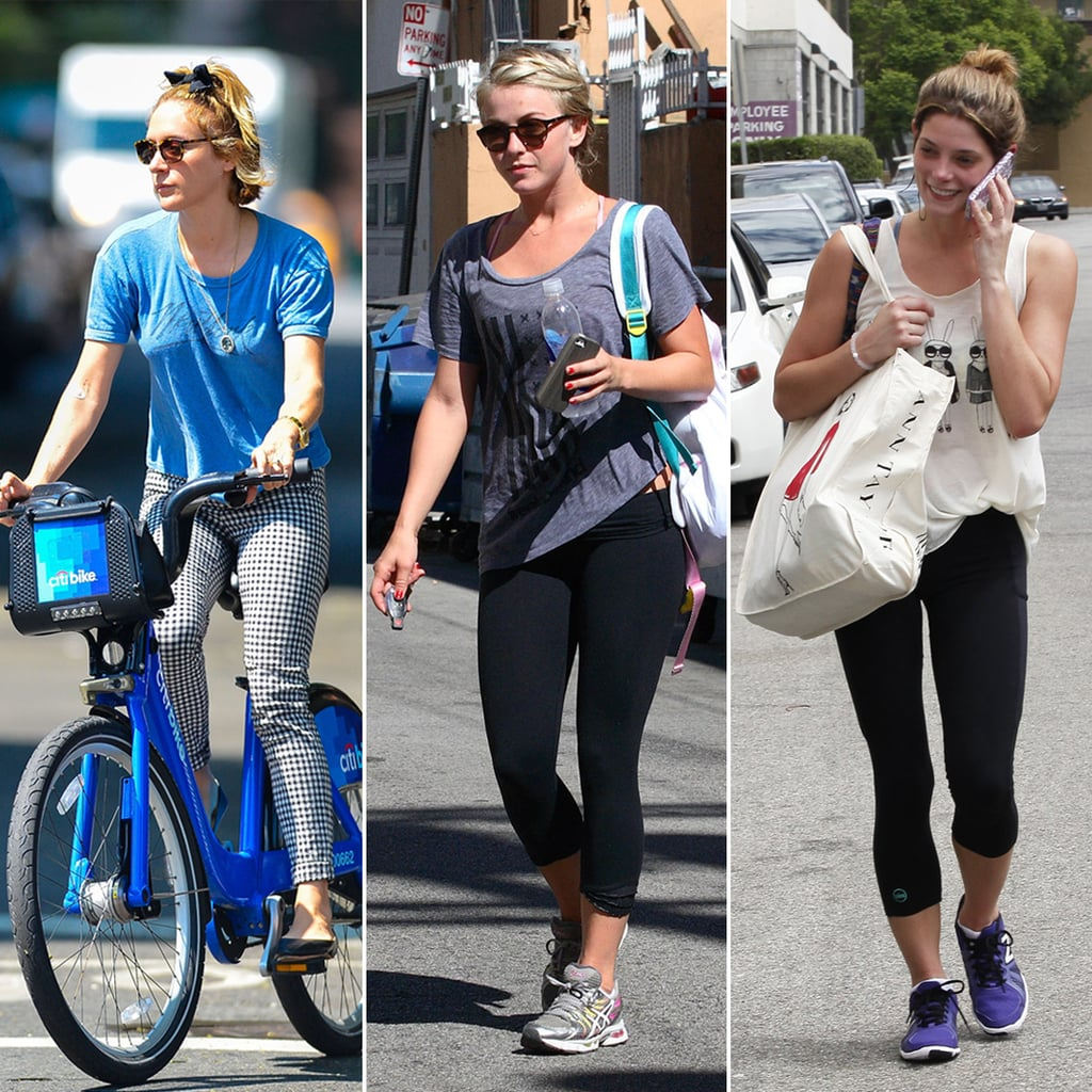 Working Out: Pictures Of Celebrities Working Out At The End Of Summer