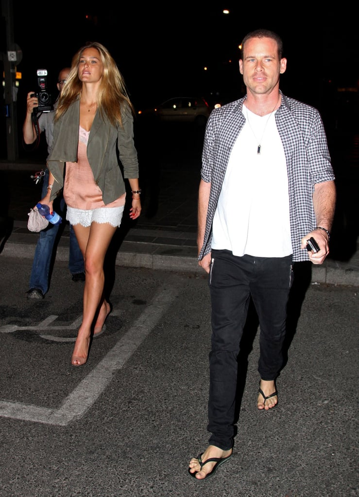 Bar Refaeli Has a Night Out With Her Reported New Guy
