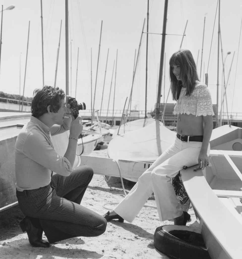 Serge Gainsbourg snapped photos of his then-lover, Jane Birkin, in 1969.