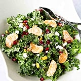 Kale, Pomegranate, and Mandarin Orange Breakfast Salad