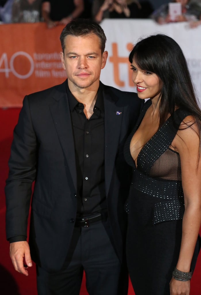 Matt Damon and Luciana Barroso | These Celebrity Love Stories Are ...
