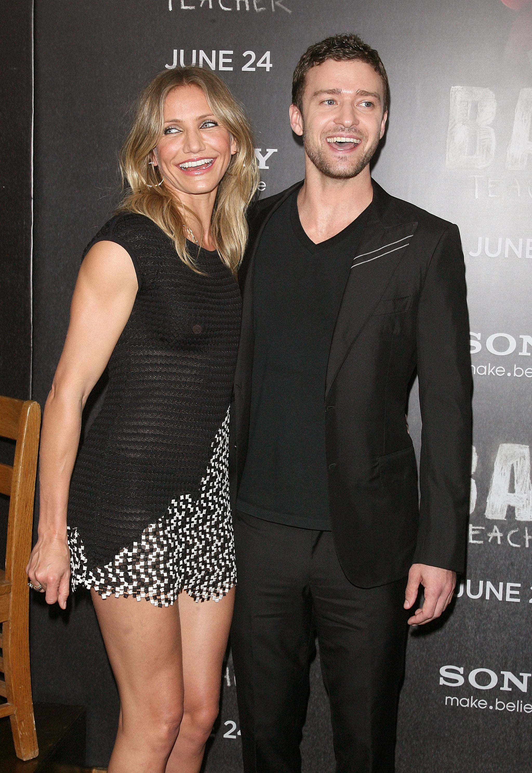 Justin Timberlake and Cameron Diaz | 17 Former Couples Who ...